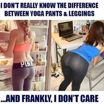 Yoga pants and leggings