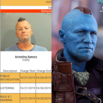 Yondu out here catching Public intox amp loitering charges