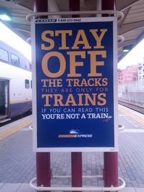 You aint a train