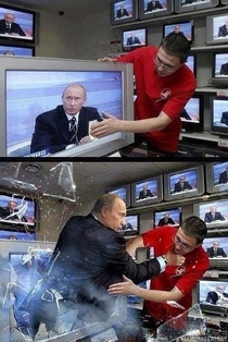 You dont mess with Putin