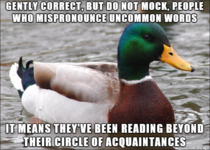 You dont want to discourage people reading do you