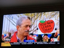 You Gon Learn Today - Oklahoma Teacher Walk-Out
