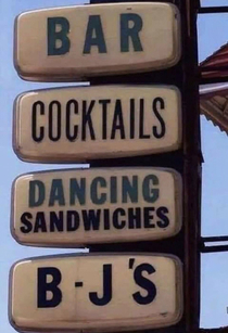 You had me at dancing sandwiches