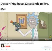 You have  seconds to live