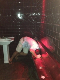 You know urine trouble when this happens at the bar