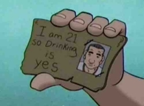 You must show your ID to purchase this sir