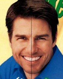 You will never unsee this Tom Cruise has a tooth at the exact center of his face