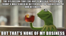 You would think that with the GOP attacking Obama on wasteful spending and not doing enough for Veterans the GOP would have made tackling those issues their top priority