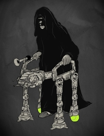 Youre never too old for an Imperial Walker