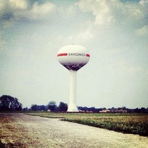 Youre not fooling anyone water tower