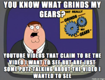 YouTube grinds my gears a few times every day this way