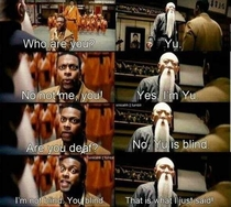 Yu should definitely watch rush hour