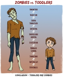 Zombies Vs Toddlers